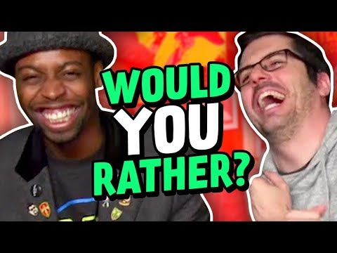 WOULD YOU RATHER w/ JOVENSHIRE (The Show w/ No Name)