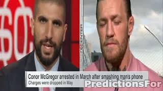 Conor McGregor talks about Hitting Old man - ESPN Interview