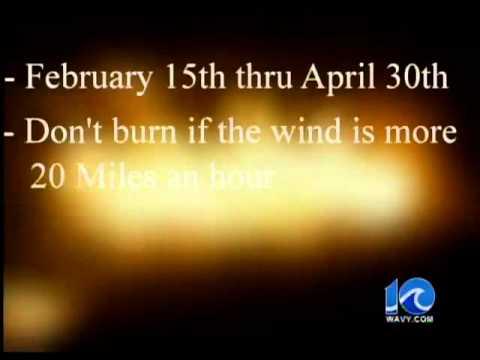 Mild weather creates fire hazard