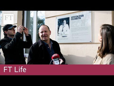 FT LIFE Philippe Sands Lviv video diary