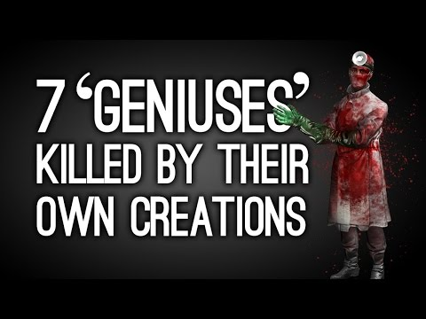 7 'Geniuses' Killed by Their Own Creations in Videogames
