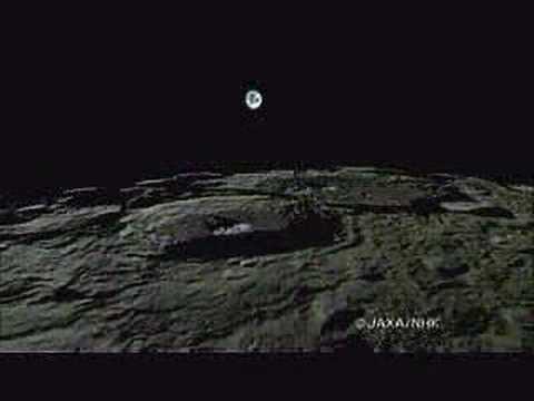 De la lune le lever et le coucher de la terre youtube - Heure de lever et coucher de la lune ...