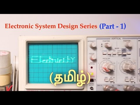 circuit design in tamil youtubeelectricity voltage, current and resistance (தமிழ்)