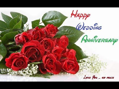 ❤💕Happy Wedding Anniversary Wishes For Husband And Wife❤💕//Greetings, Wallpaper, Whatsapp Video