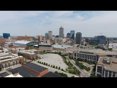 Drone Flight- Downtown Indianapolis June 4, 2017