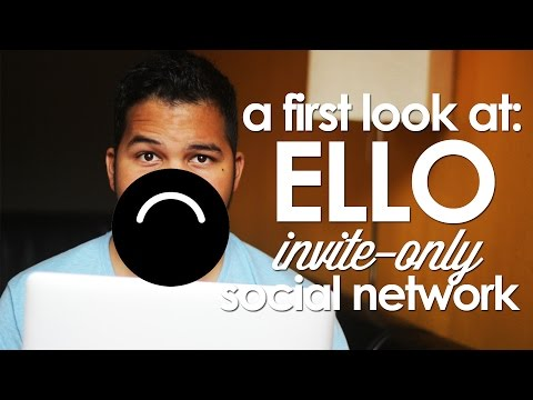 Your First Look At ELLO! + Invite Giveaway!