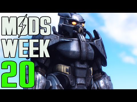 FALLOUT 4 MODS - WEEK #20: Enclave Power Armor, Cover Mechanic, Battle Rifle & More!