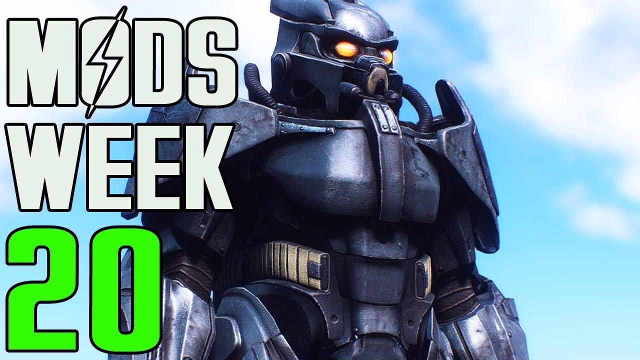 FALLOUT 4 MODS - WEEK #20: Enclave Power Armor, Cover Mechanic, Battle  Rifle & More!