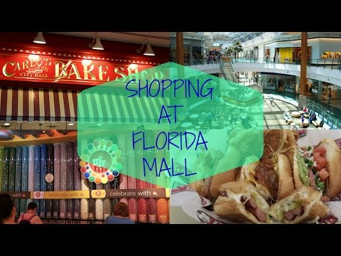 Florida Mall - Fat one's hotdogs, Victoria's secret, Bath & bodyworks & more