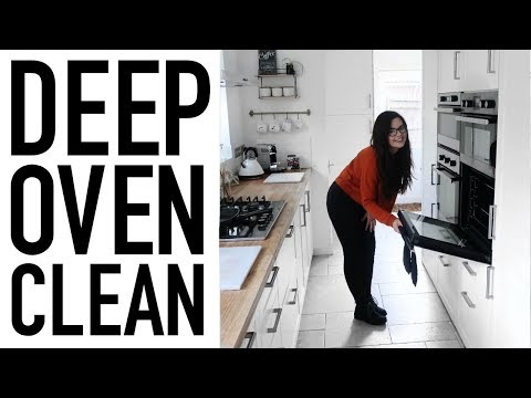 DEEP OVEN CLEAN | SPEED CLEAN WITH ME | CLEANING MOTIVATION