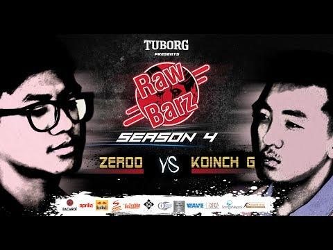 Zeroo VS Koinch G (Official Battle) | Tuborg Presents RawBarz Rap Battle S4E2