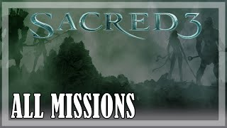 Sacred 3 - All Missions, Full game