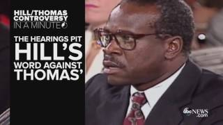 Clarence Thomas And Anita Hill Controversy In A Minute