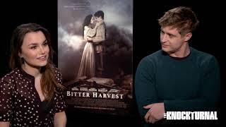 Samantha Barks and Max Irons Talk 'Bitter Harvest'
