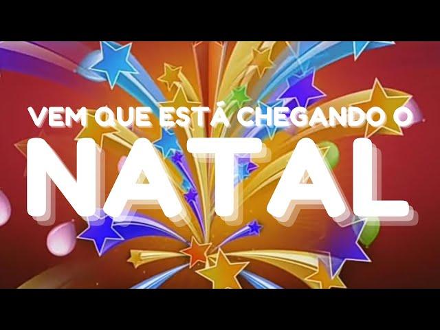 VEM CHEGANDO O NATAL - Aline Barros - Música de Natal Família Alegria