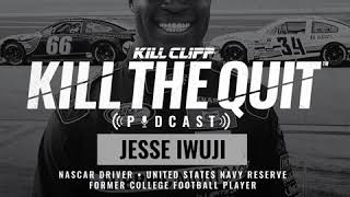 Jesse Iwuji: NASCAR Driver - Former College Football Player - KILL CLIFF Podcast Interview