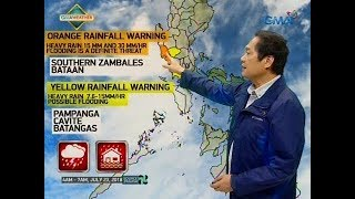 UB: Weather update as of 5:54 a.m. (July 23, 2018)