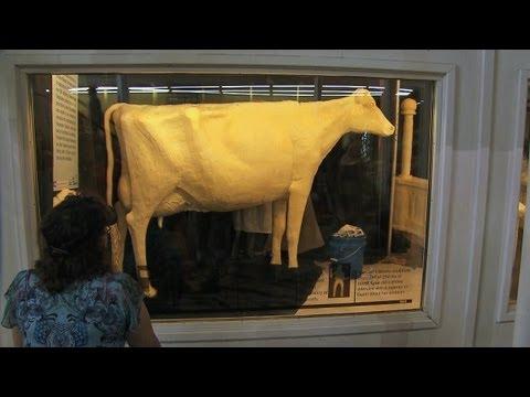 Butter Cow | Iowa State Fair 2013