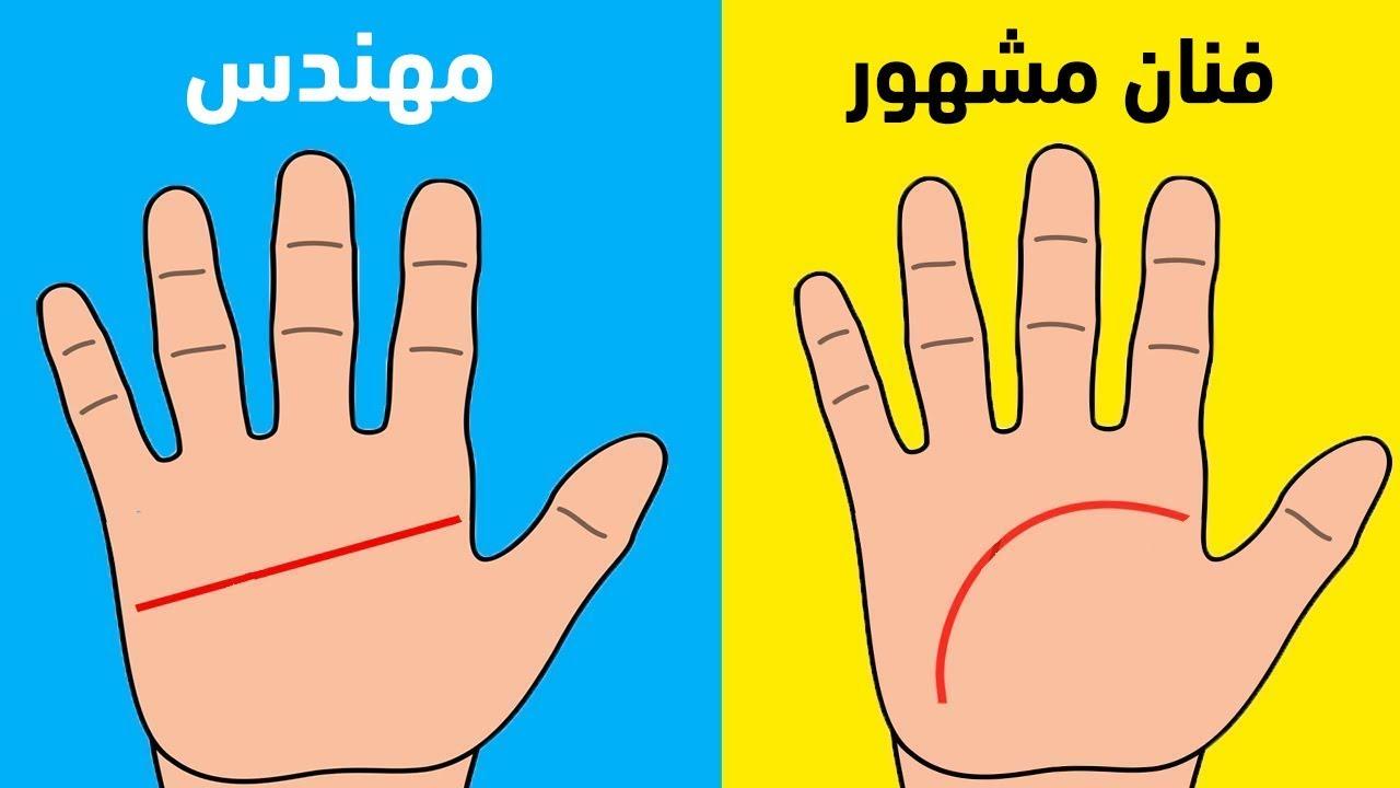 أختبار شخصية: سأكشف سر عن مستقبلك عن طريق كف يديك فقط !!
