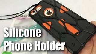 seOSTO Universal Lanyard Strap Silicone Phone Holder Sling Review