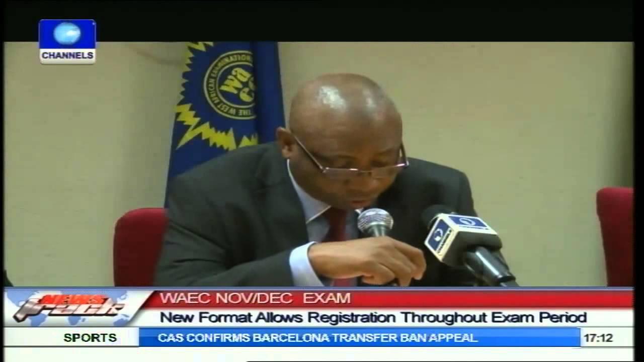 WAEC Introduces 'Walk In Candidates' Registration Format