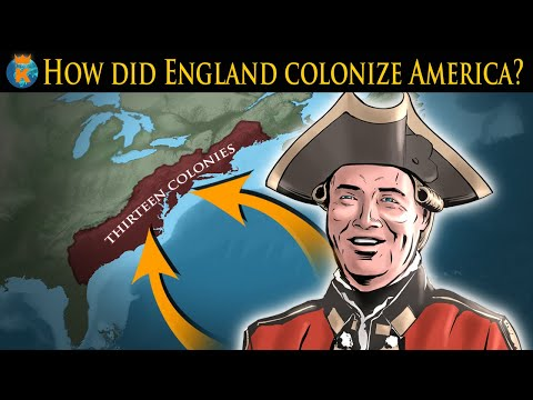 How did the English Colonize America?
