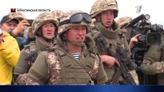 Боевики вторглись на территорию Казахстана - учения