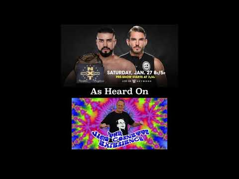 Jim Cornette s Johnny Gargano vs. Andrade