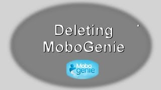 How to remove (uninstall) Mobogenie - android phone manager