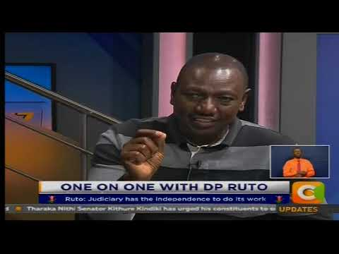 Game Plan 2017 : One on One with Deputy President William Ruto [ Part 1]
