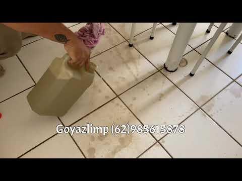 Como tirar manchas de pisos queimados por limpa pedras?