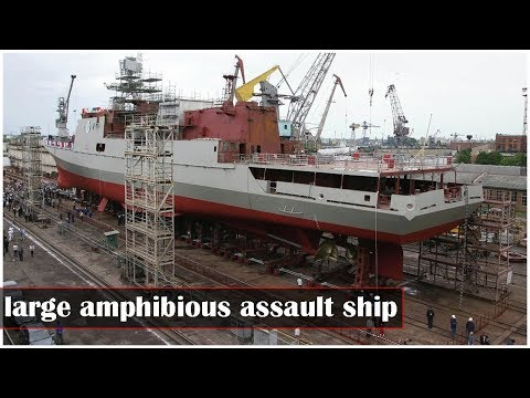 Russian Navy to receive large amphibious assault ship by yearend
