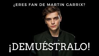 ¿Eres fan de MARTIN GARRIX? | DEMUÉSTRALO!!!