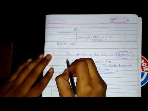 CA-IPC Accounts Group-1 Internal Reconstruction Part-5