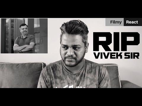 RIP Vivek Sir - Condolence From MALAYSIA | Filmy React | 4K