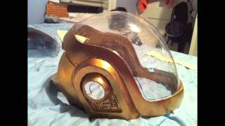 Making of Daft Punk Guy Helmet