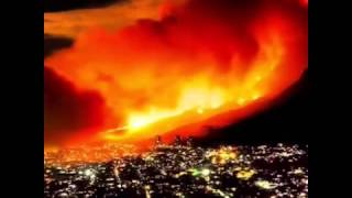 Great fire in Cape Town 2015