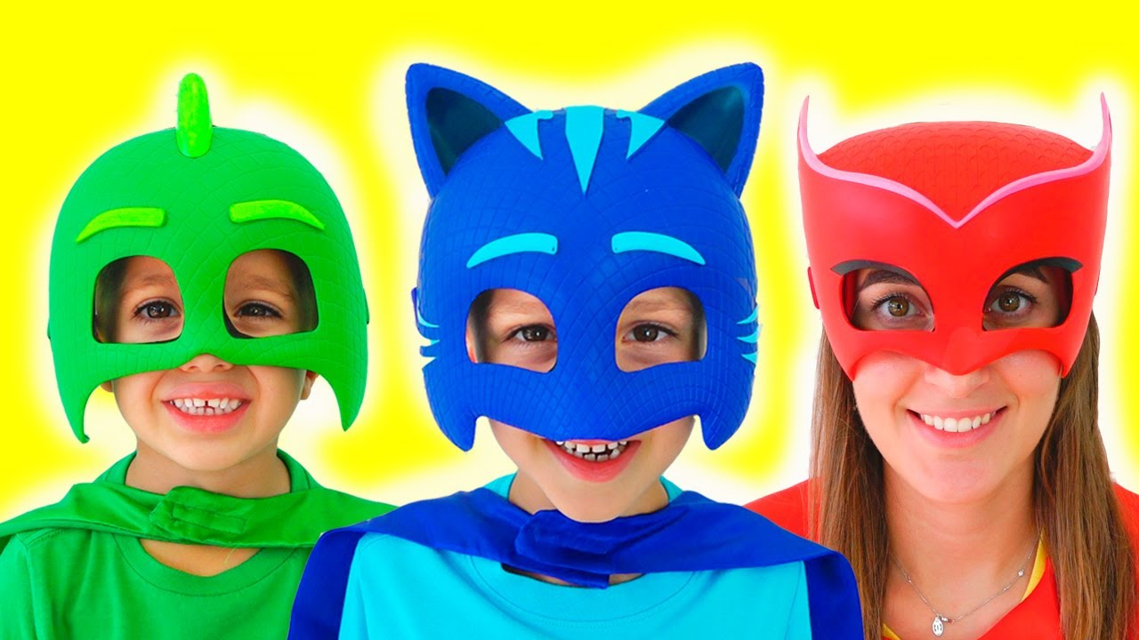 Download Vlad became a masked superheroes and help friends