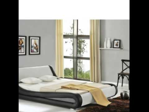 modern italian leather beds