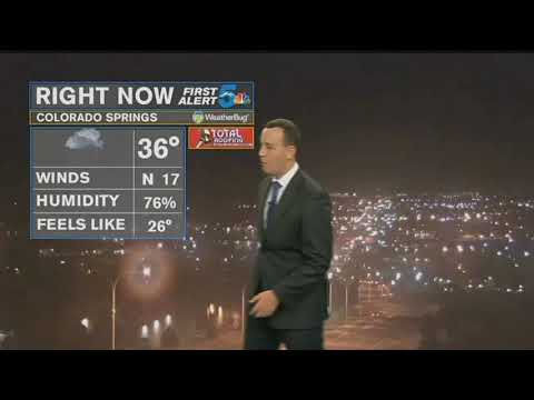 First Alert 5 Forecast: Snow Showers With Very Cold Temperatures