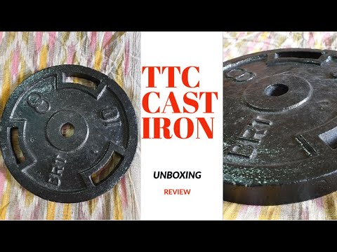 TTC CAST IRON WEIGHT UNBOXING FROM AMAZON