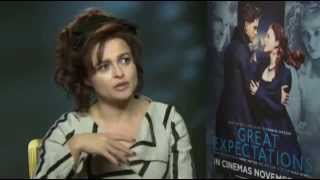"Helena Bonham Carter interview ""Great Expectations"""