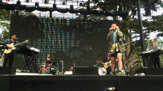 Bleachers - Dreams (The Cranberries cover) - Outside Lands 2014, Live in San Francisco