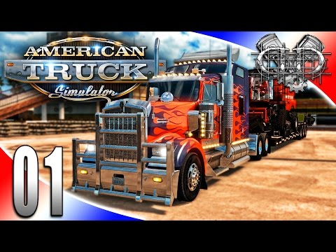 American Truck Simulator Gameplay : EP1 : Back on the Road A