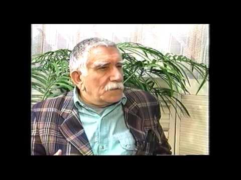 Armen Djigarkhanyan Interviewed by Petros Sargsyan  1997 at Armenia Today TV Studio