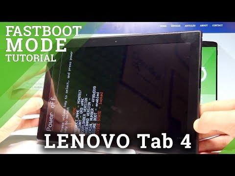 How To Enter Fastboot Mode In LENOVO Tab 4 |HardReset.info