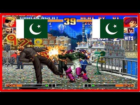 Kof 97 - BILAWAL (pakistan) vs Noman Terry (pakistan) Fightcade