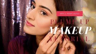plum flush makeup   makeup tutorial   ERICA FERNANDES
