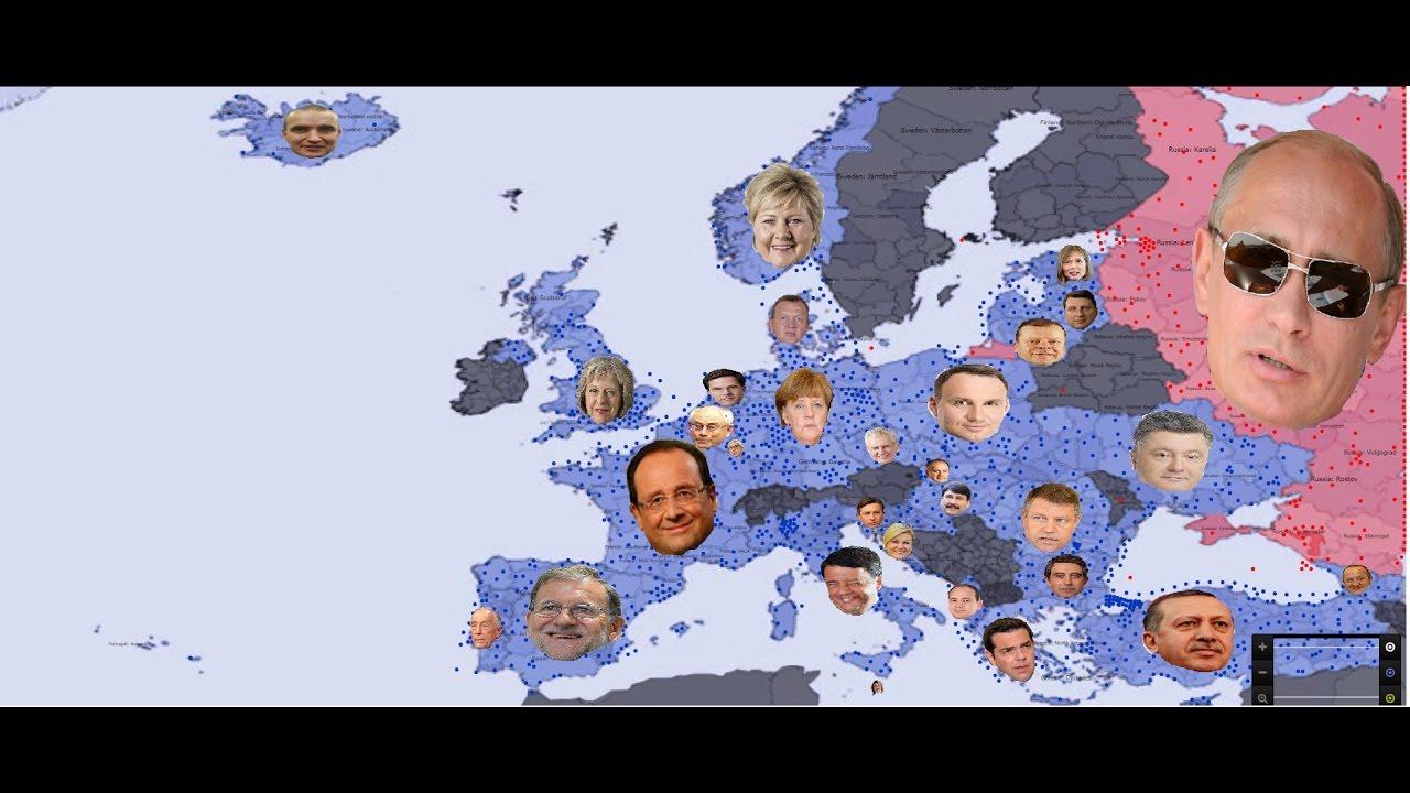 Russia vs European NATO simulation version 1 ( Special ...