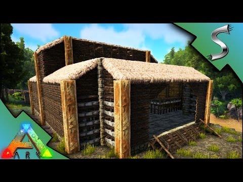 RESOURCE FARMING BUILDING! - Ark: Survival Evolved [S3E40]
